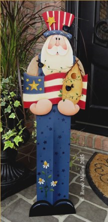 Uncle Sam Porch Greeter