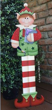 "#705 ""Boy Elf Porch Greeter""  (PATTERN)"
