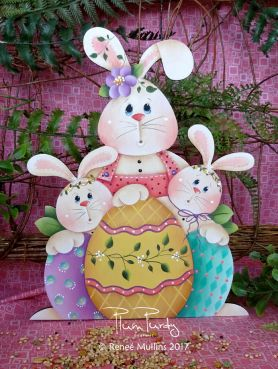 "#707 ""Easter Bunny Trio""  (PATTERN)"
