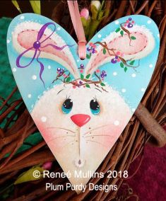 #726 Spring Time Bunny Tag (PATTERN/KIT)