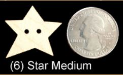 Star Buttons (MEDIUM)