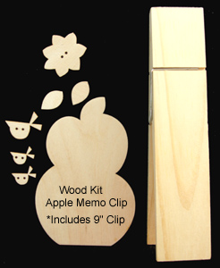 Apple Memo Clip (Complete Kit)