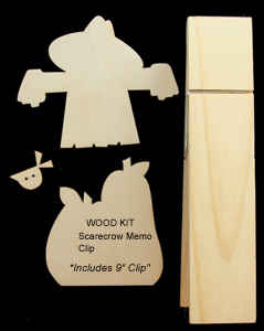 Scarecrow Memo Clip (Complete Kit)