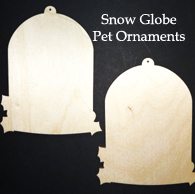 Snow Globe Pet Ornaments