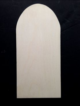 Arched Wood Board (WOOD)
