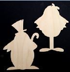 Dancing Penguins (WOOD)