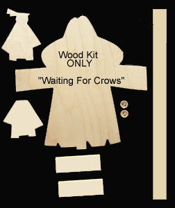 """Waiting For Crows"" (WOOD KIT ONLY)"