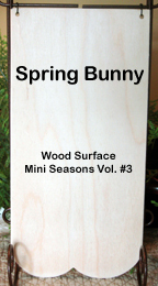Wood Banner (Spring Bunny)