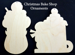 Christmas Bake Shop Cookies (WOOD ww#3)