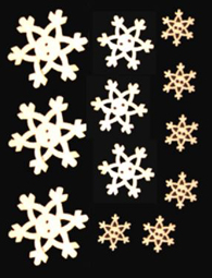 Snowflake Buttons (ASSORTMENT)
