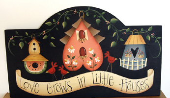 #134 Love Grows In Little Houses (PATTERN)