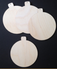#675  Over The Moon Ornaments (WOOD KIT)