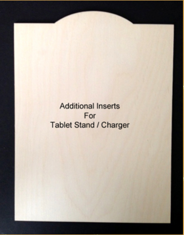 Inserts (Interchangeable Tablet Stand / Charger)